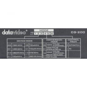 DataVideo CG-200 down