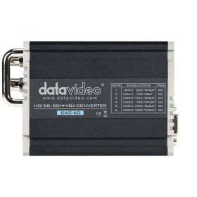 DataVideo DAC-60 top