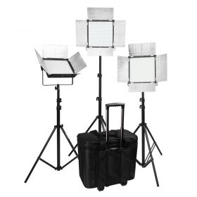 DOF D1296S Bi-Color 3-light kit/EU