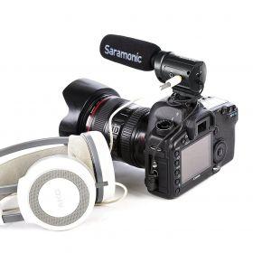 Saramonic SR-M3 и DSLR камера