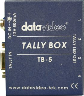 DataVideo TB-5 Top